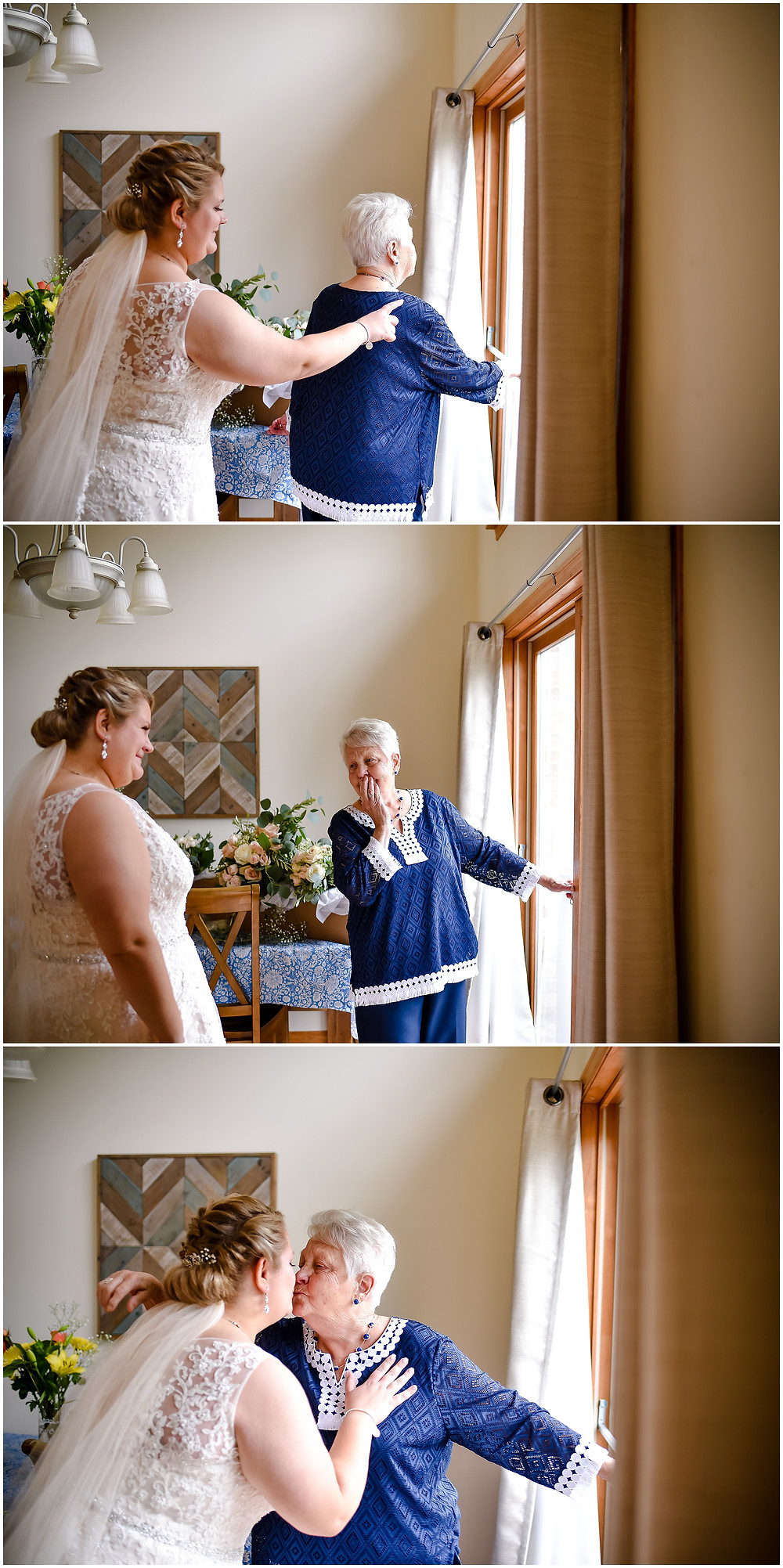 Barrington Wedding Photographer, Chicago Wedding Photographer, Addison Wedding Photographer, Naperville Wedding Photographer, Makray Golf Club Wedding, Makray Memorial Golf Club, Makray Wedding, Makray Wedding Photographer, Grandmother First Look, Grandma First Look