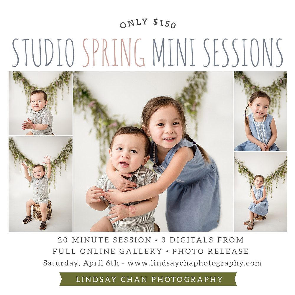 Lindsay Chan Photography, Naperville Photographer, Naperville Photography Studio, Spring Mini Session, Easter Mini Session, Easter Outfit, Easter Bunny Photographer