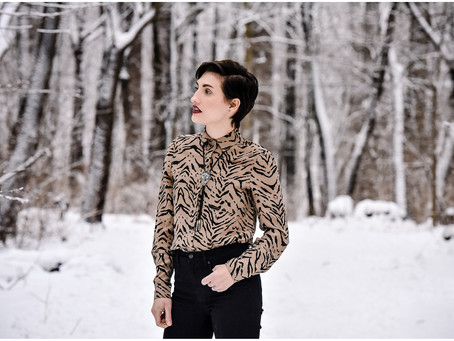 Getting Creative in 2021: Editorial Snow Photoshoot