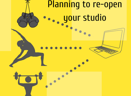 Planning for re-opening your studio