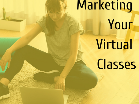 Marketing your virtual classes