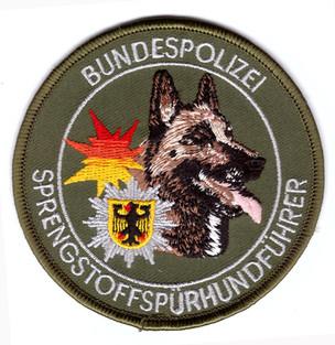 Bundespolizei_Deutschland_Sprengstoffspü