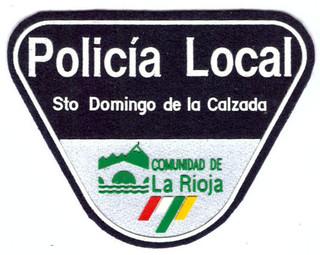 Policia Local Sto Domingo de la Calzada.