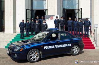 Polizia Penitenziaria-Gefängsnispolizei.