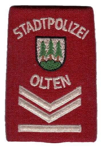 Patte Stadtpolizei Olten-Kanton Solothur