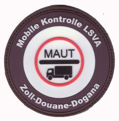 Mobile Kontrolle Schwerverkehr-Zoll Schw