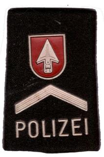Patte Stadtpolizei Grenchen-Kanton Solot