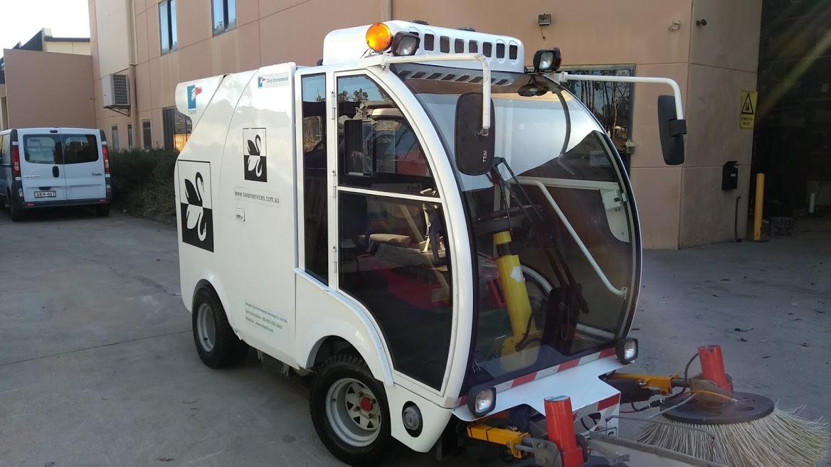 Mini Truck Sweeper