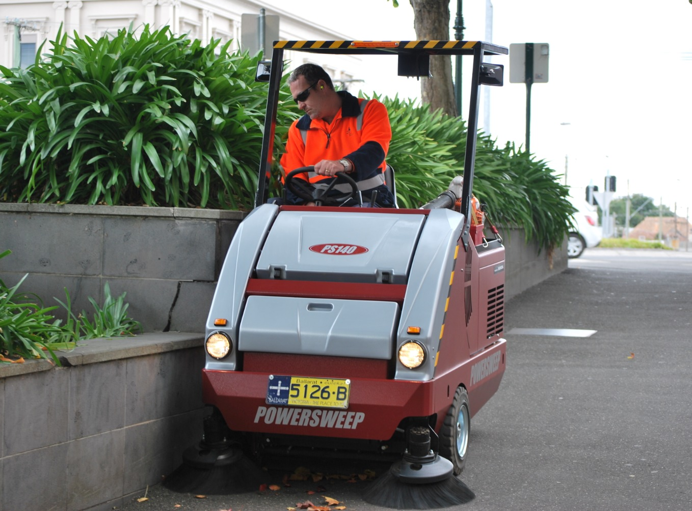 PS140 Sweeper
