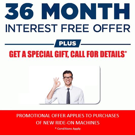 Interest Free Promotion