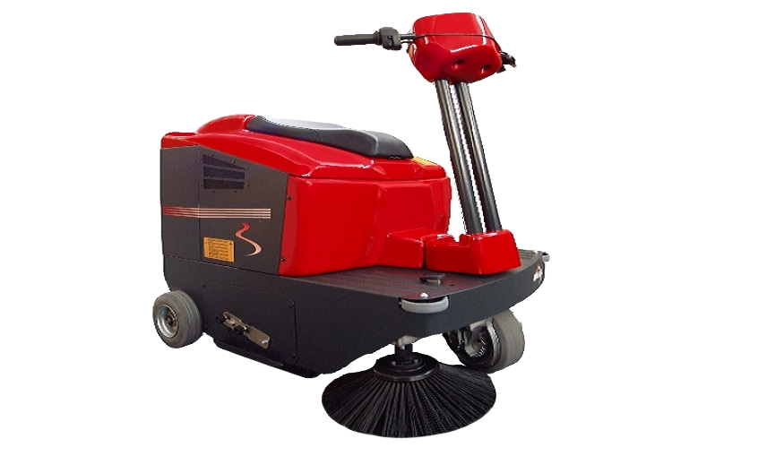 Powersweep KS1000 ride on sweeping machine