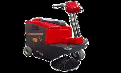 Powersweep KS1000 ride on sweeping machine
