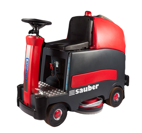 Cleanfix RA900 ride on scrubber