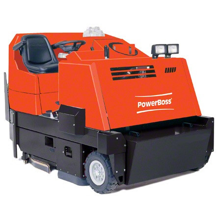 PowerBoss Monitor Sweeper Scrubber