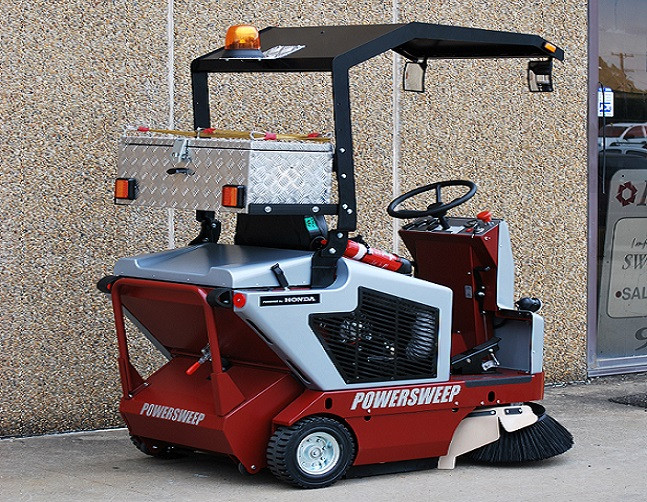PS120 Sweeper with Road Rego