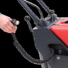 Cleanfix KS650 sweeper inbuilt battery charger