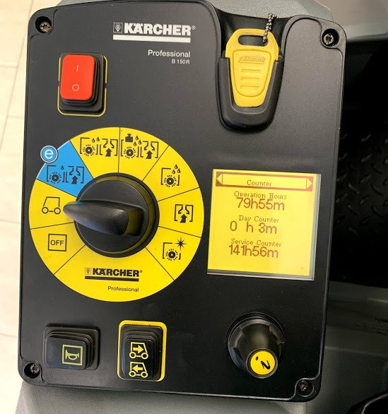 Karcher Scrubber Control Panel