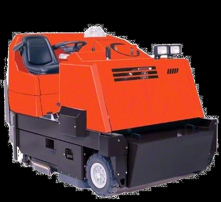 PowerBoss Sweeper Scrubber