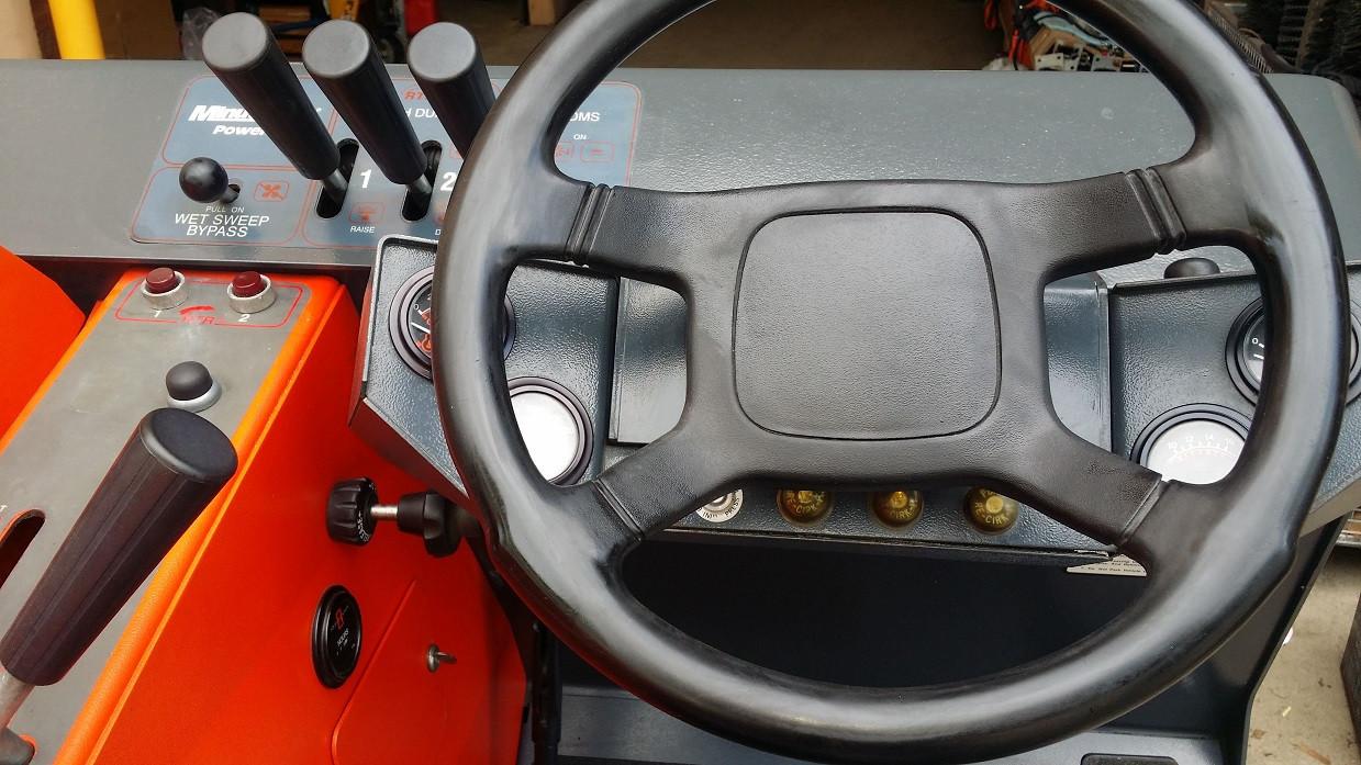 powerboss steering wheel