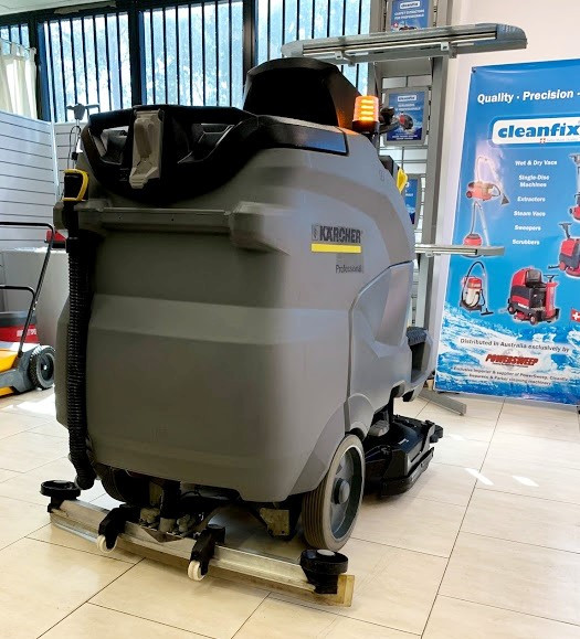 Karcher rider scrubber for salwe