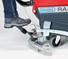 Cleanfix floor scrubber squeegee