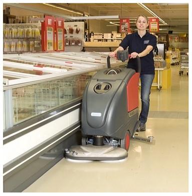 Scrubbing Shop Floors