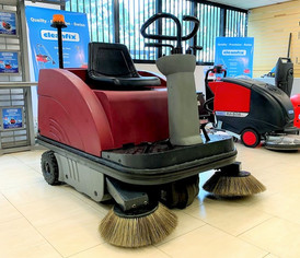 PowerBoss sweeper front view