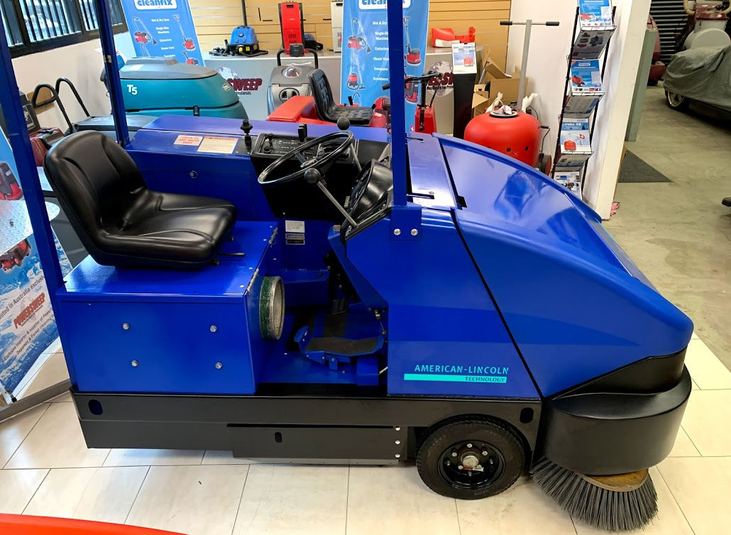 Powersweep Australia LPG industrial sweeper