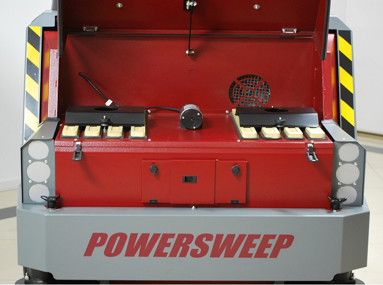 POWERSWEEP PS170 Filter System Location