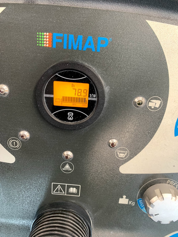 Fimap SMG120 low hours