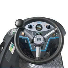 Fimap Rider scrubber Operator console