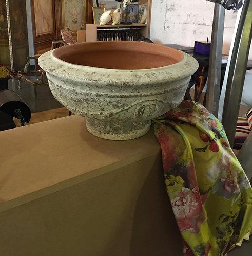 Coupe en pierre cuite