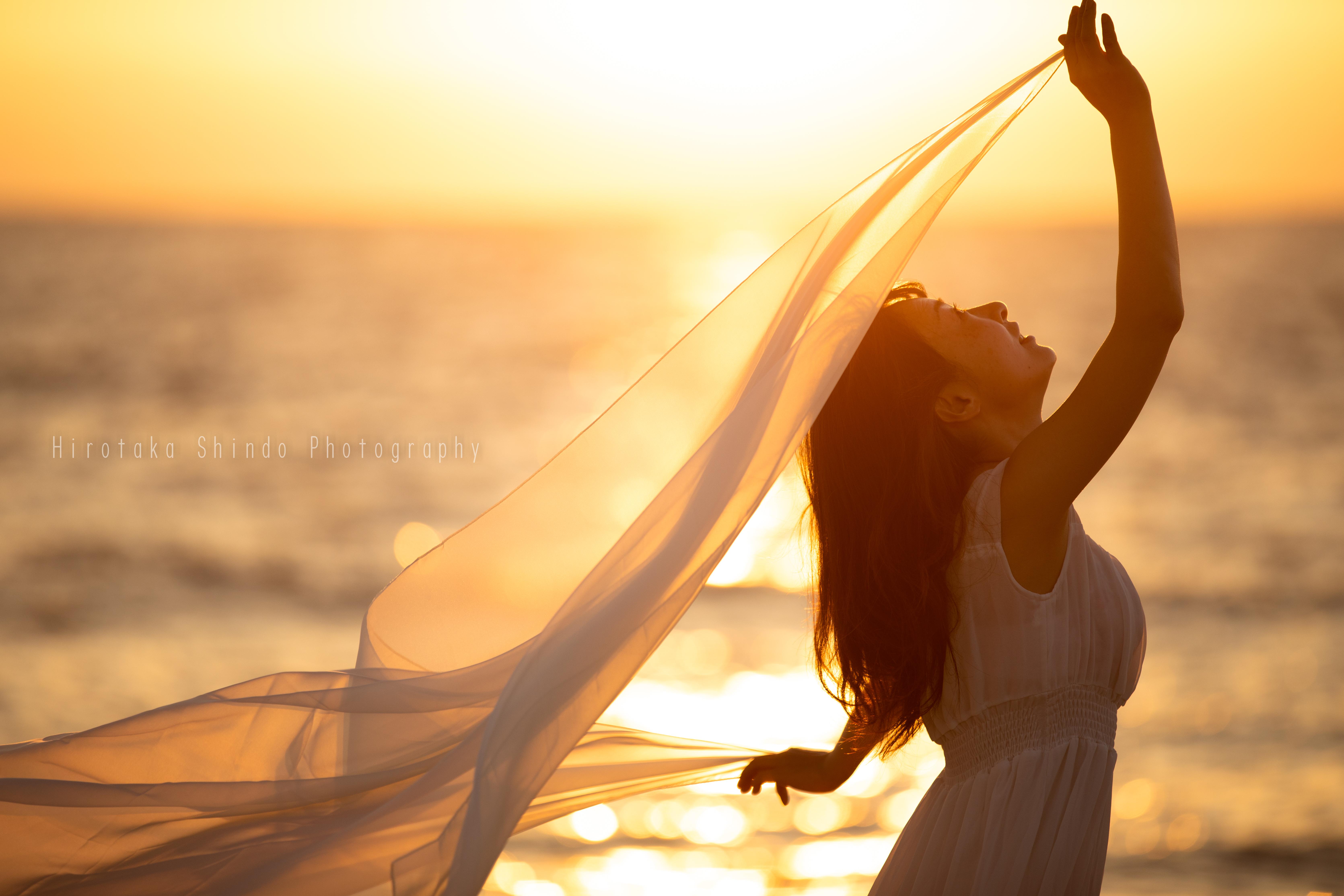 夕陽の中のヴィーナス