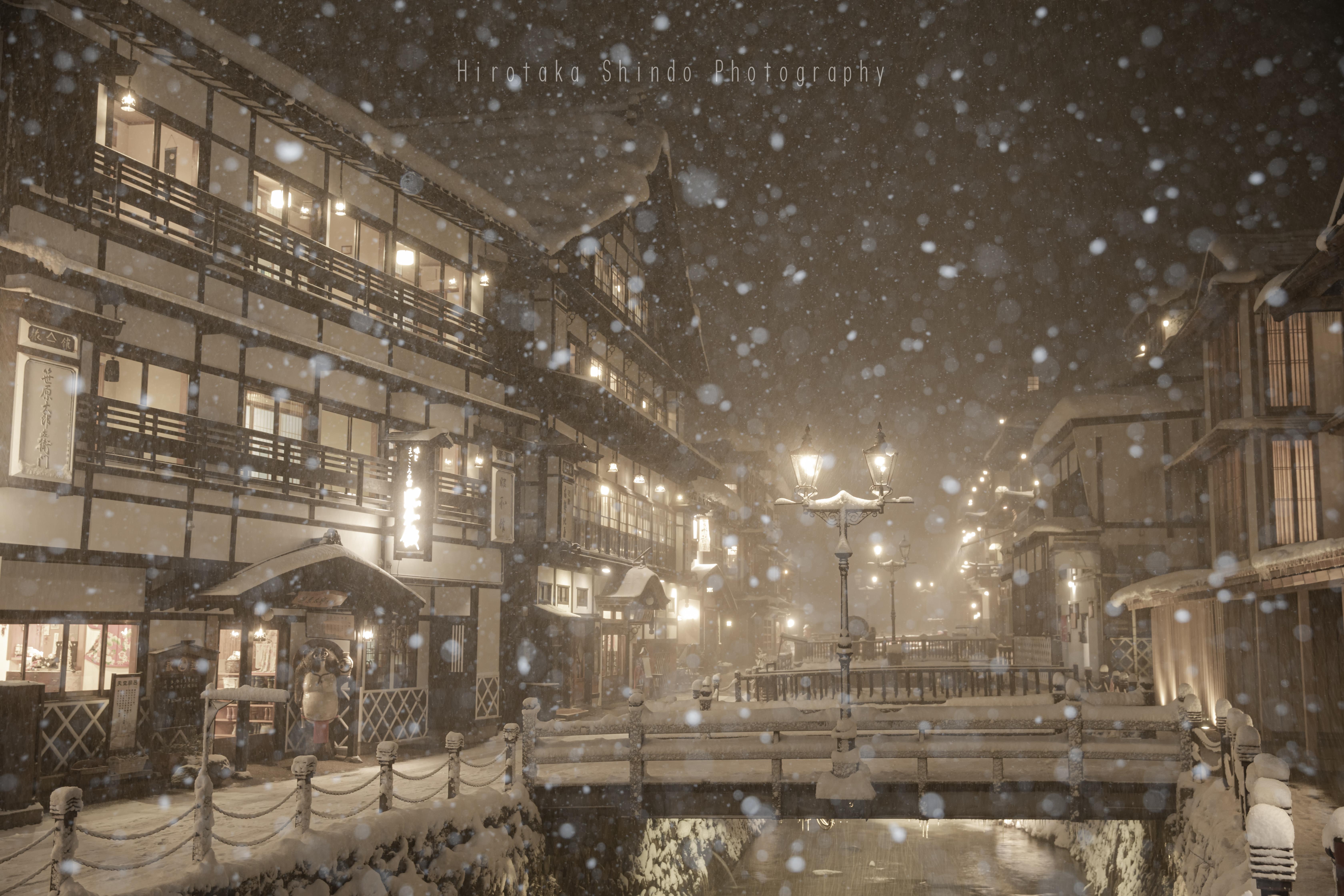 吹雪の銀山