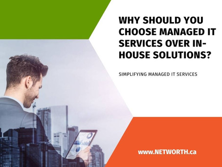 Why Should You Choose Managed IT Services over In-House Solutions?