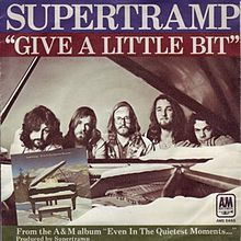 Give a little bit. Supertramp. Foto. Ama