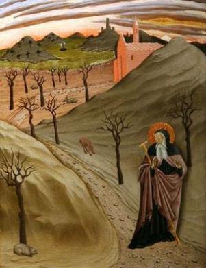 Sant Antoni al desert.