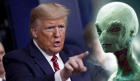 Donald Trump extraterrestres