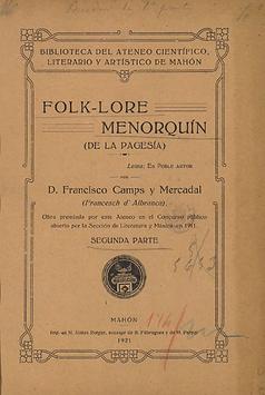 Flolk-lore menorquín