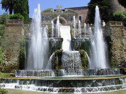 Fountain Villa D'Este Roma