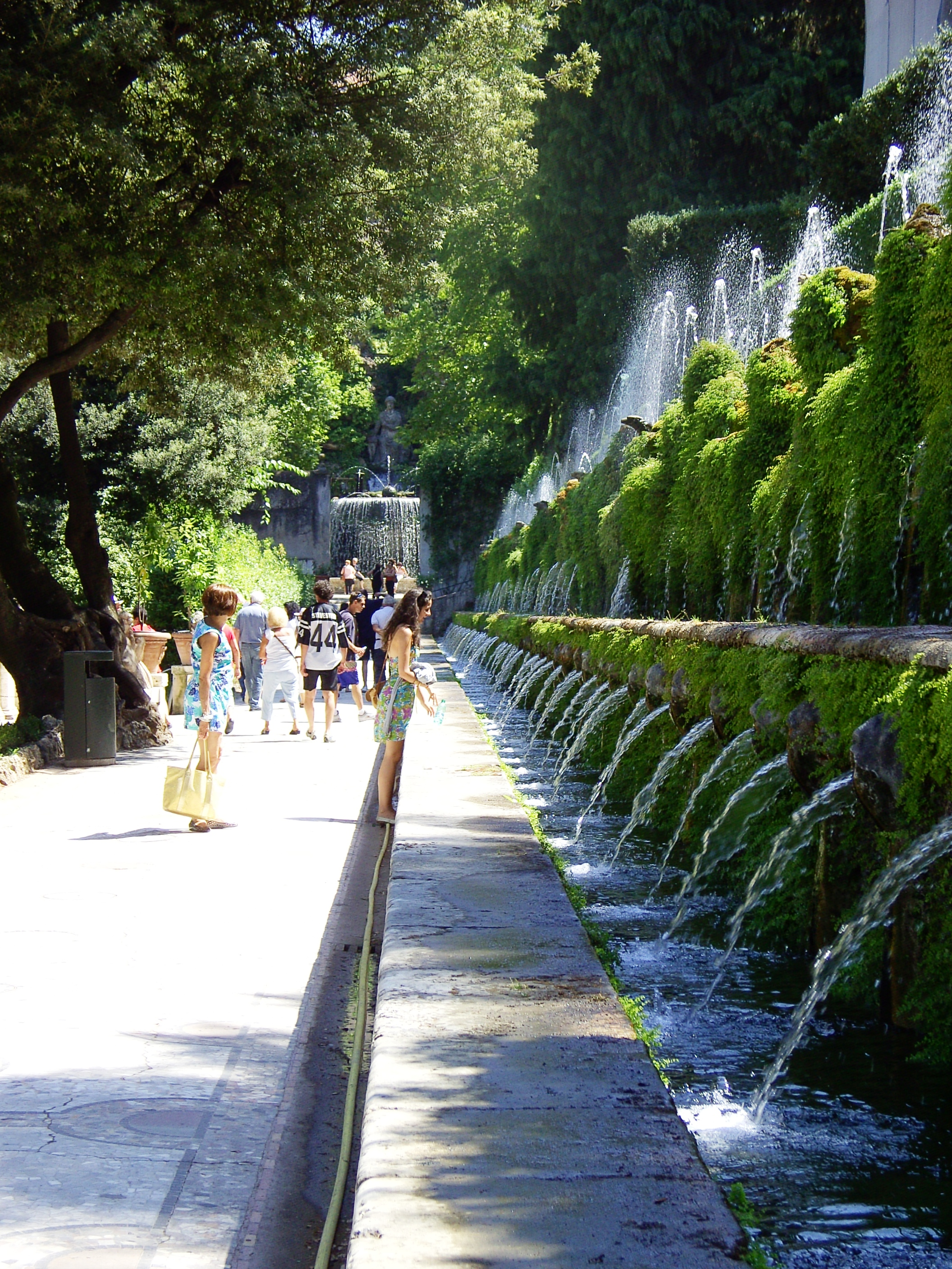 Terrace of a Thousand Fountains Villa D'Este