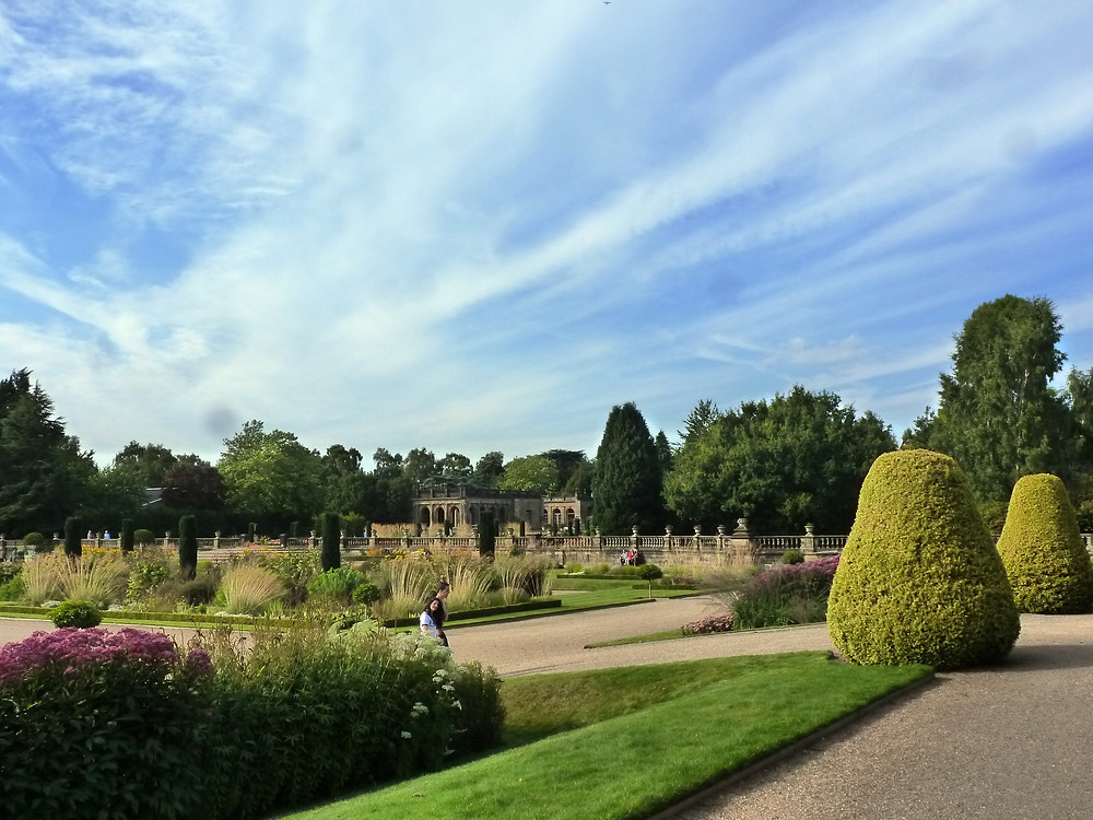 Tom Stuart-Smith design at Trentham Gardens