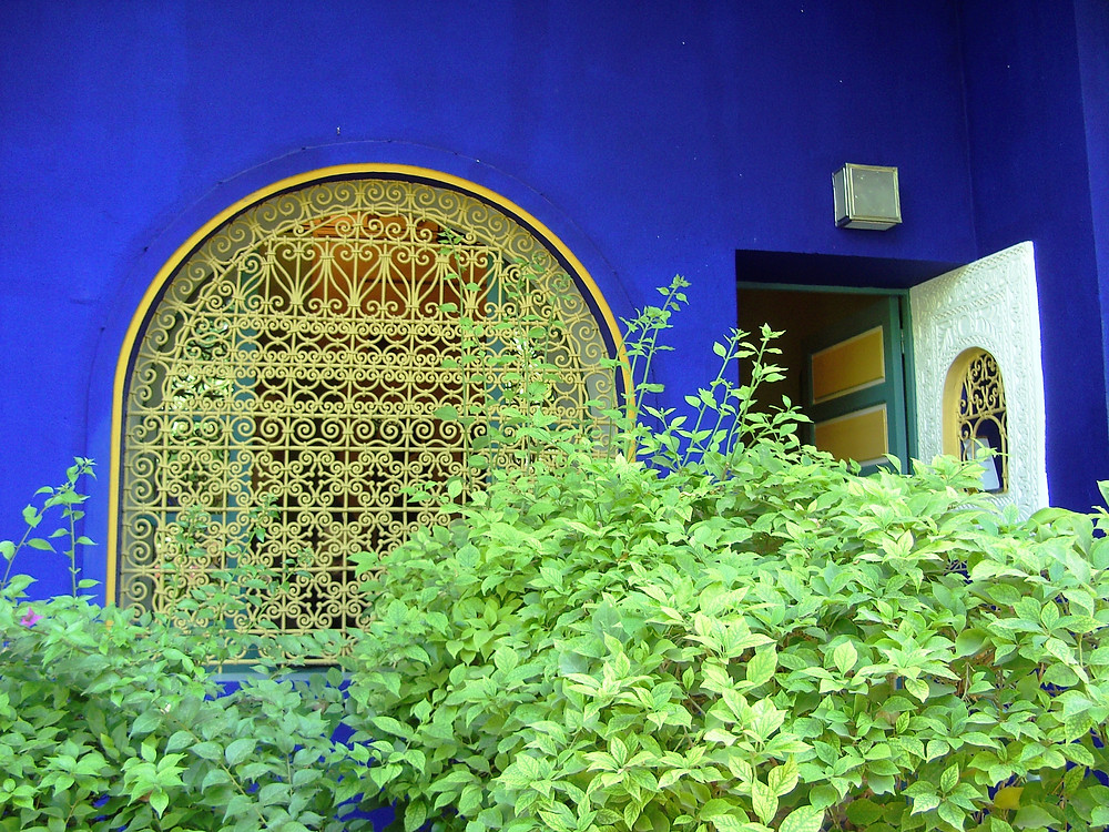 Yves St Laurent's Majorelle Gardens, Marrakesh