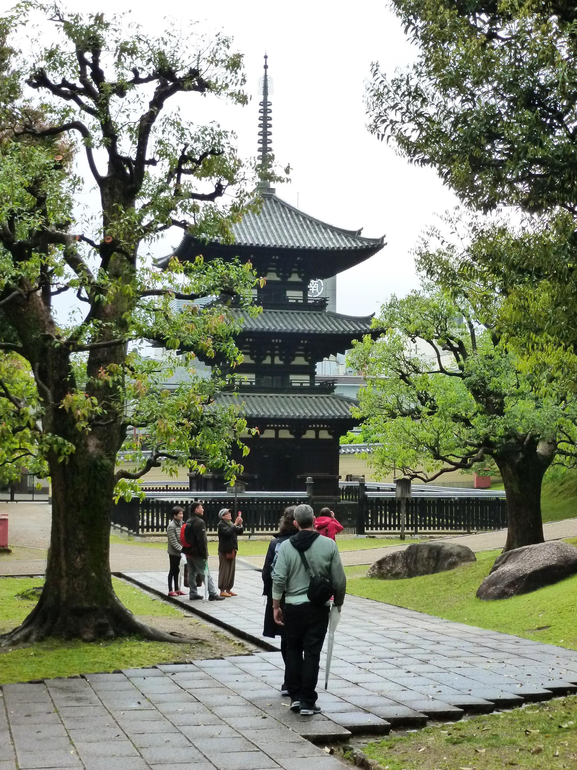 Temple Pagoda, Nara, Japan