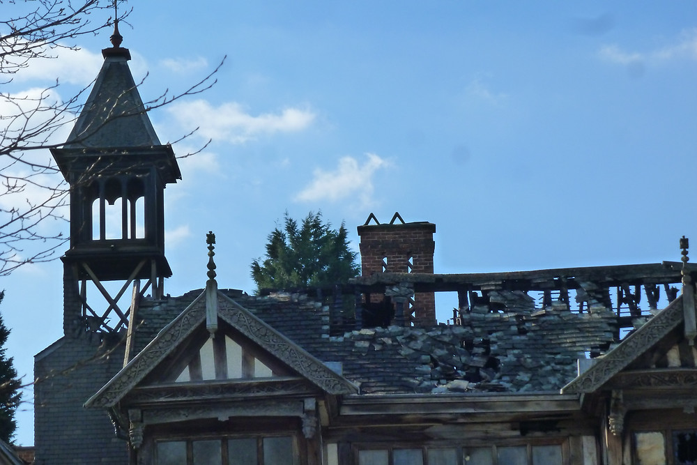 Roof collapse and Bell-Tower damage