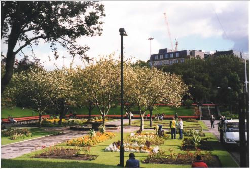 The old gardens in 1998