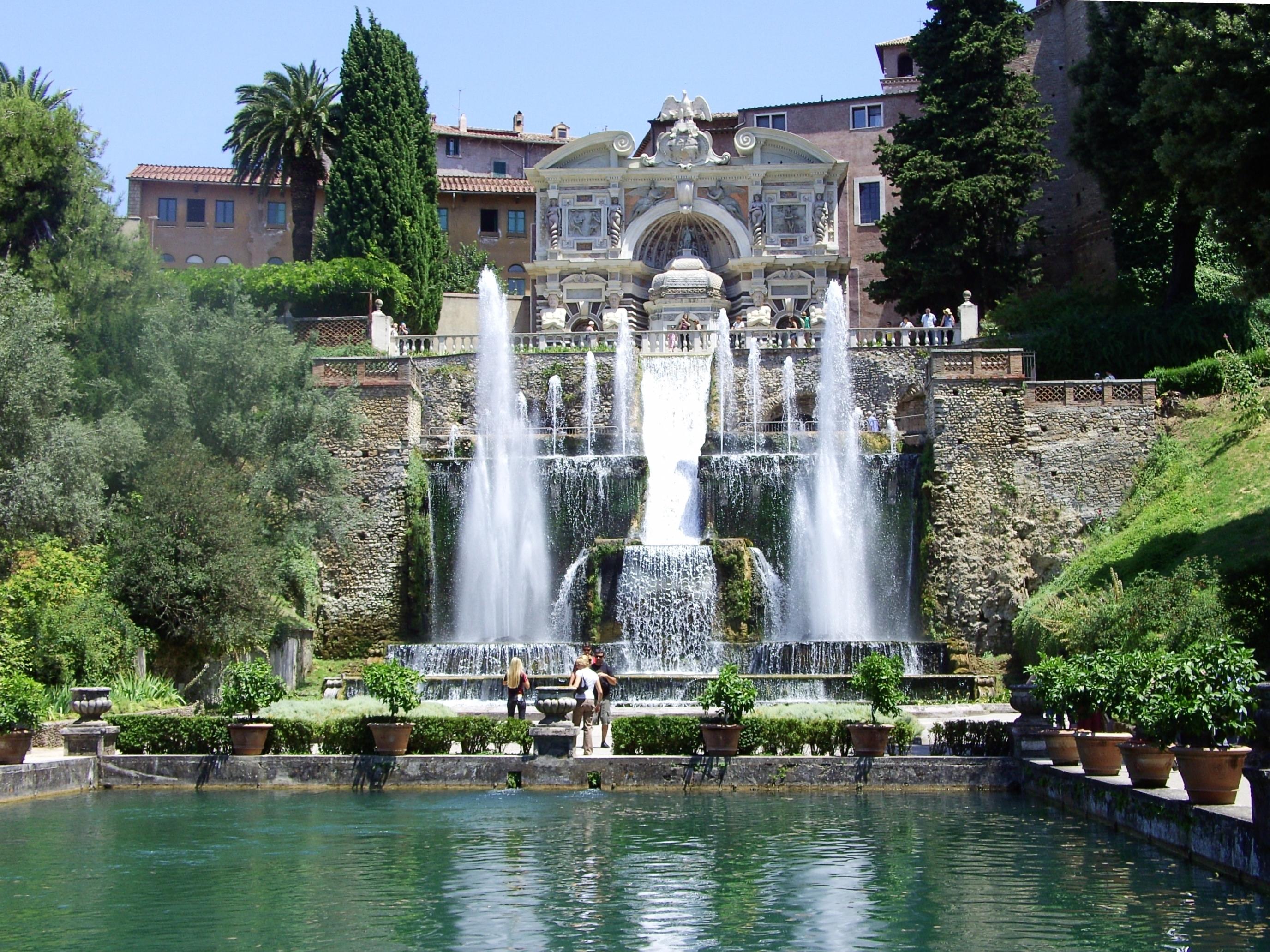 Neptune Fountain, Villa d'Este  Rome