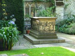 Tomb of John Tredescant the Elden, Garden History Museum,  Lambeth, London