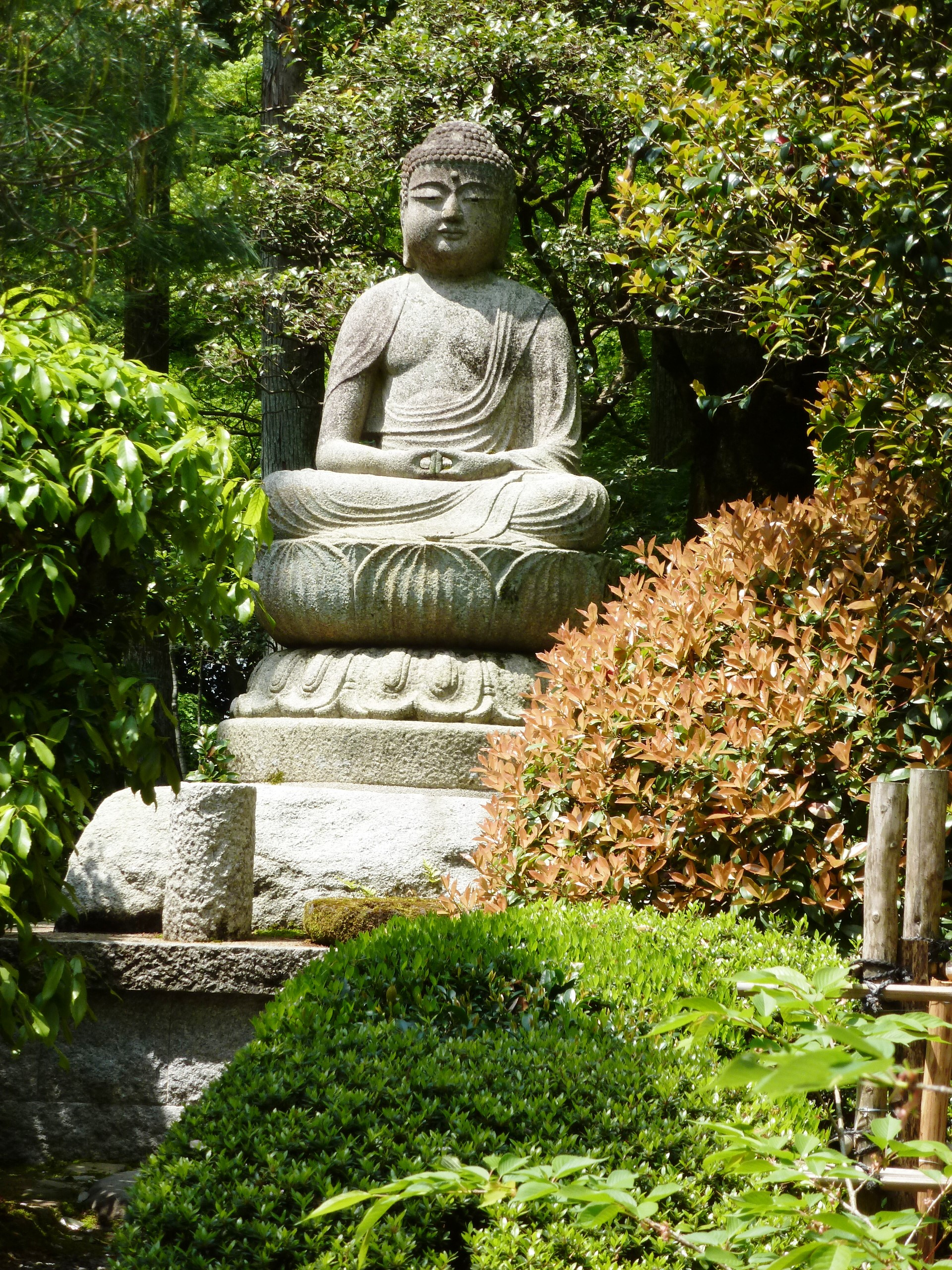 Guardian Buddha, Ryoanji, Kyoto, Japan