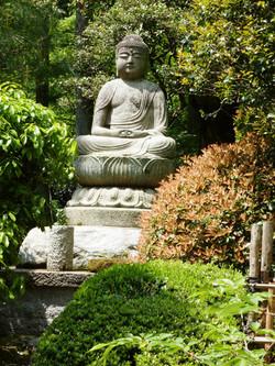Guardian Buddha, Ryoanji, Kyoto, Japan